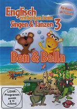 DVD NEU/OVP - Ben & Bella - Englisch entdecken beim Singen & Tanzen 3