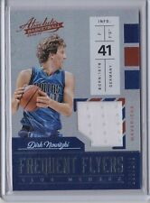 Dirk Nowitzki 2016-17 Absolute Frequent Flyers Jersey /149