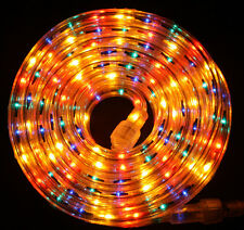 "Multi-Color Rope Light 300Ft 110V 120V 2-Wire 1/2"" Incandescent Bulbs Flexilight"