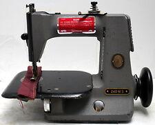 SINGER 240 W 1-Needle 1-Thread Chainstitch High Speed Industrial Sewing Machine