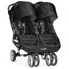 Baby Jogger 2016 City Mini Double Stroller - Black/Grey - New! Free Shipping!