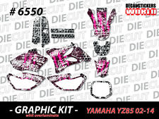 *NEW* GRAPHIC KIT 2002-2014 YZ85 YZ 85 PINK VINYL DECAL STICKER GRAPHICS 6550