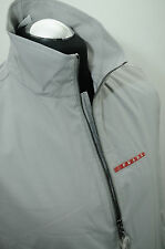 Prada Men's Gore-Tex Sleeveless Grey Designer Gilet Jacket Coat SGV 498 - Small