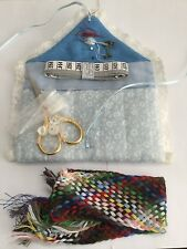 BNWOT SMALL BEGINNINGS, LONDON TRADITIONAL SEWING KIT BEAUTIFUL FLORAL POUCH/BAG