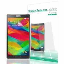 Samsung Galaxy Note 4 Screen Protector, amFilm® Premium HD Clear 3 pack