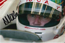 ALLAN MCNISH HAND SIGNED PANASONIC TOYOTA F1 6X4 PHOTO 1.