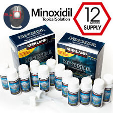 12-Month Kirkland Extra Strength Minoxidil Topical Solution USP 5% Hair Regrowth