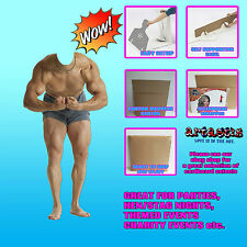 Muscle Man Stand In Photo Prop Lifesize Star Cardboard Cutout SC699