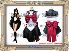 B6 Super Sailor Moon Cosplay Costume Mingou setsuna Sailor pluto