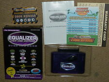 NINTENDO 64 N64 EQUALIZER cheat code cartouche adaptateur panier system boxed-rare!