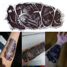 Waterproof Robot Arm Temporary Tattoo Stickers Body Art Removable 3D Tatoo