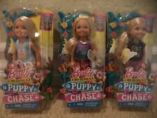 BARBIE PUPPY CHASE CHELSEA & FRIENDS  SET OF 3 DOLLS  *NEW*