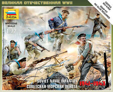 6146 SOVIET NAVAL INFANTRY - ZVEZDA  1/72 - WW2 - RUSSIAN - WARGAMING 20MM