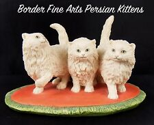 Border Fine Arts Boyt ©️83 Trio of Cream Persian Kittens