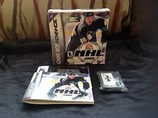 NHL 2002 Nintendo GameBoy Advance GBA DS EA SPORTS NHLPA