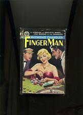 FINGER MAN, RAYMOND CHANDLER. AVON, 1ST VINTAGE PB 1950. HI GRD VG+. FN COVER.