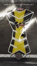 Moto GP Tank Protector Pads Motorcycle Black Yellow CBR GSXR Hornet Bandit etc