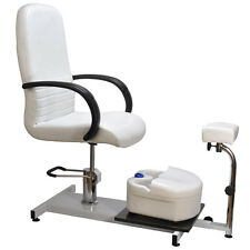 Hydraulic Pedicure Station Chair Salon Spa Equipment Foot Bath and Leg Rest