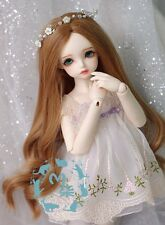 1 4 7-8 BJD Wig MSD SD DOC YOSD DOD LUTS Dollfie Doll wigs brown curly