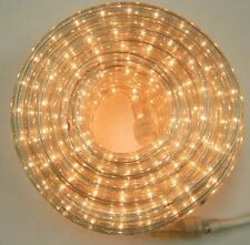 """Clear Rope Light 12Ft 110V 120V 2-Wire 1/2"""" Incandescent Bulbs Flexilight Party"""