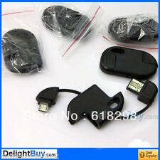 STYLISH DATA CHARGE KEYRING CABLE FOR SAMSUNG GALAXY S4 S2 S3 - UZ088