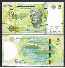 TUNEZ TUNISIA - 5 DINARS 2013  Pick  Nuevo   SC  UNC