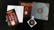 PARAGON - HELL BEYOND HELL LP + CD GREY VINYL + TESTPRESSUNG LIMITED 25 COPIES