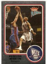 KENYON MARTIN SERIAL #/100 2002-03 FLEER PLATINUM FINISH 136 $20 BOOK VALUE NETS