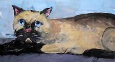 Alley Cat  8 : Original Painting Alexei Petrenko : Give Fine Art this Easter