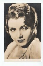 Peggy Shannon (Died 1941) American Actress c1930's Film Weekly Series 112 Old PC