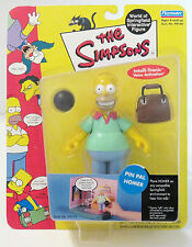 Los Simpsons World Of Springfield: serie 2-Pin Pal Homer Figura De Acción