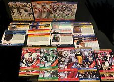 1990 Pro Set ERROR & Corrected LOT of ( 16 ) Pairs Variants 32 Cards TOTAL! SP
