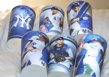 2015 NY YANKEES STADIUM COMPLETE Set OF 6 SGA HOLOGRAMS Player Cups