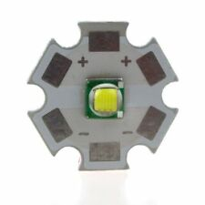 1PCS Cree XML-T6 White Color 10W LED Emitter Bead mounted on 16mm UFO base