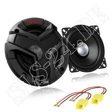 JVC Dual Cone Lautsprecher BOXEN 180W 100mm + Fiat Punto 188 LSP Adapter hinten