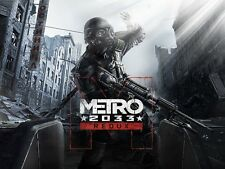 POSTER METRO 2033 REDUX 2034 LAST NIGHT ARTYOM MOSCA HORROR VIDEOGAME PC PS4 #6