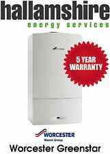 INSTALLED WORCESTER GREENSTAR 25SI 5 YEAR WARRANTY, COMBI BOILER , FREE STAT