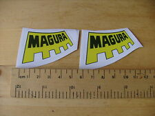 MAGURA Bike / Mtb Decals Self Adhesive MATT  A Pair (T2m) FREEPOST WORLDWIDE