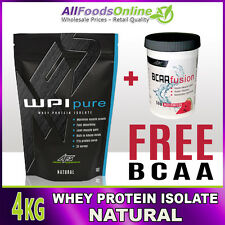 WPI - WHEY PROTEIN ISOLATE - WPI PURE - NATURAL - 4KG