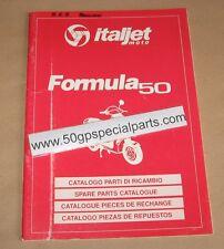 ITALJET FORMULA 50 CATALOGO PARTI DI RICAMBIO