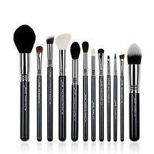 Jessup 12Pcs High Quality Pro Makeup Brush Set Make Up Brushes Kit Tools T128