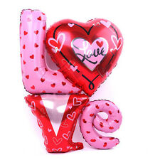 Love Letter Foil Balloons Wedding Party Decoration Valentines 36 inch (81x 91cm)
