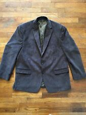 Ralph Lauren Chaps Corduroy 2 Button Brown Sport Coat Blazer Men's 48R NWOT