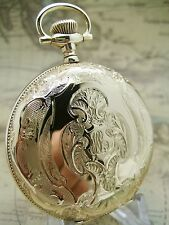 HAMILTON 16s GOLD FILLED - HUNTING CASE POCKET WATCH - THE HIGHEST QUALITY!