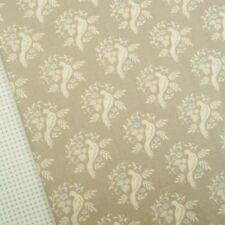 Tilda All That Is Spring, Bird sand fabric / quilting clothing taupe floral dove