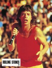 MIKE JAGGER  ROLLING STONES 1982 VINTAGE LOBBY CARD #7
