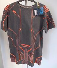 Cyberdog Mens T shirt UV sensitive Grey/orange size M. Includes original carrier