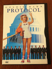 Protocol (DVD, 1998)*Out of Print Snap Case**Goldie Hawn