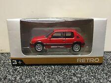 Peugeot 205 GTI rouge 1:64 NOREV retro à partir de 3 ans