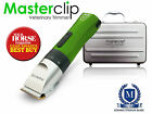 Masterclip Cordless Veterinary Trimmer Quiet Clipper Ideal for Pre-Op Clipping